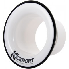 AQUARIAN - KICKPORT -AMPLIFICATEUR ACOUSTIQUE GROSSE CAISSE BLANC