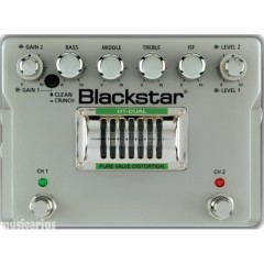 BLACKSTAR - PEDALE DE DISTORTION 2 CANAUX A LAMPE HAUTE TENSION