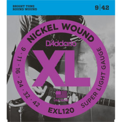 D'ADDARIO - SUPER LIGHT 9-11-16-24-32-42