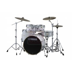 JSBP2F5PWH6W STAGE CUSTOM BIRCH C CLAIRE 22/10/12/FT16 PURE WHITE + PACK ACCESSOIRES SERIE 700 HW680W