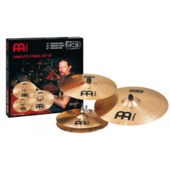 "JEU MEINL BRONZE 14 /16 /20+CRASH 14"" OFF"