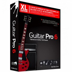 XL GUITARE PRO 6 CD-ROM XL PACKAGING FRANCAIS
