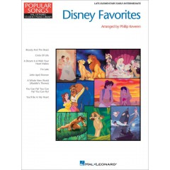 HAL LEONARD STUDENT PIANO LIBRARY DISNEY FAVOURITES