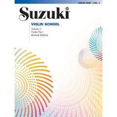 SUZUKI VIOLIN SCHOOL VIOLIN PART V.1