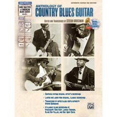 ANTHOLOGY OF COUNTRY BLUES GUITAR TAB + CD