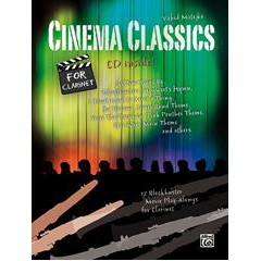 CINEMA CLASSICS FOR CLARINET + CD arr. Vahid Matejko