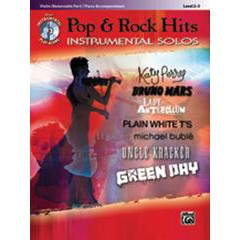 POP & ROCK HITS INSTRUMENTAL SOLOS VIOLIN + CD