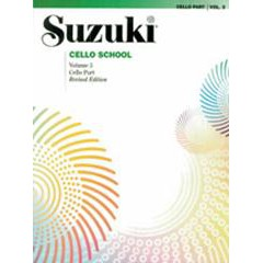 SUZUKI CELLO SCHOOL CELLO PART V.3