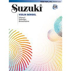 SUZUKI VIOLIN SCHOOL VIOLIN PART V.2 + CD