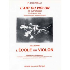 L'ART DU VIOLON - 25 CAPRICES