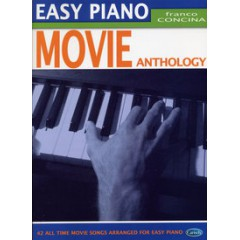 EASY PIANO MOVIE ANTHOLOGY arr. Franco Concina