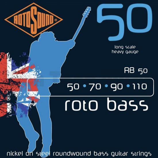 ROTOBASS NICKEL ROUNDWOUND LONG SCALE