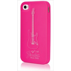COQUE IPHONE 4 FENDER MAGENTA PICK