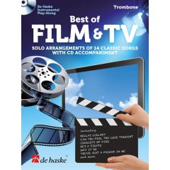 BEST OF FILM & TV TROMBONE + CD