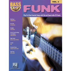 BASS PLAY-ALONG V.05 FUNK + ACCES AUDIO