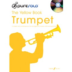 PURE SOLO YELLOW BOOK TRUMPET + CD