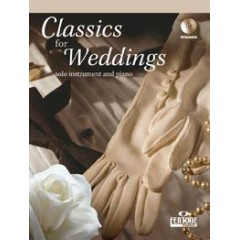 CLASSICS FOR WEDDING TRUMPET + CD