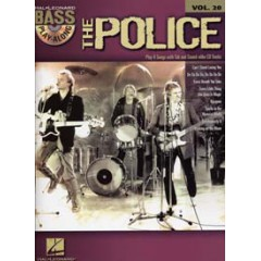 BASS PLAY-ALONG V.20 POLICE + CD