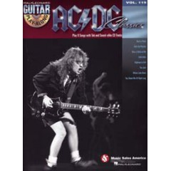 GUITAR PLAY-ALONG V.119 AC/DC CLASSICS + CD