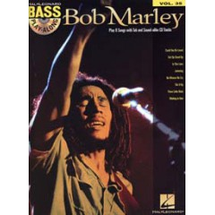 BASS PLAY-ALONG V.35 BOB MARLEY + CD