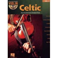 VIOLIN PLAY-ALONG VOL.004 CELTIC MELODIES + CD