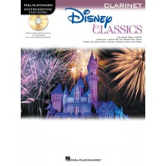 DISNEY CLASSICS CLARINET PLAYALONG + CD