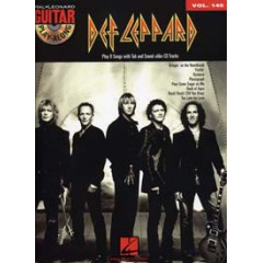 GUITAR PLAY-ALONG V.145 DEF LEPPARD + CD