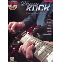 GUITAR PLAY-ALONG V.73 BLUESY ROCK + CD