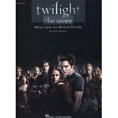 TWILIGHT MUSIC FROM THE MOTION PICTURE PIANO SOLO