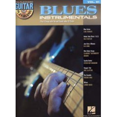GUITAR PLAY-ALONG V.91 BLUES INSTRUMENTAL + CD