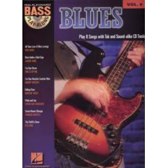 BASS PLAY-ALONG V.09 BLUES + CD
