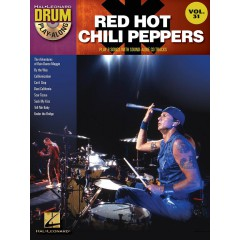 DRUM PLAY-ALONG V.31 RED HOT CHILI PEPPERS + CD