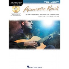 INSTRUMENTAL PLAY-ALONG ACOUSTIC ROCK TRUMPET + CD