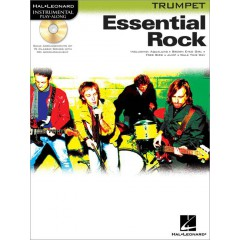 INSTRUMENTAL PLAY-ALONG ESSENTIAL ROCK TRUMPET + CD
