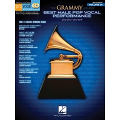 PRO VOCAL V.60 GRAMMY AWARDS BEST MALE POP 2000-2009