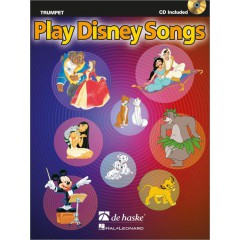 PLAY DISNEY SONGS TROMPETTE + CD