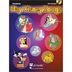 PLAY DISNEY SONGS TROMBONE + CD