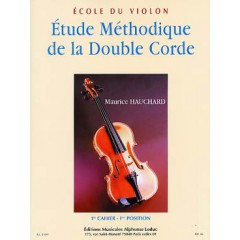 ETUDE METHODIQUE DE LA DOUBLE CORDE V.1