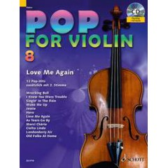 POP FOR VIOLIN V.8 + CD