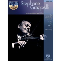 VIOLIN PLAY-ALONG VOL.015 STEPHANE GRAPPELLI + ACCES AUDIO