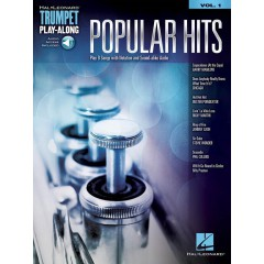 TRUMPET PLAY-ALONG V.01 POPULAR HITS + ACCOMPAGNEMENT AUDIO