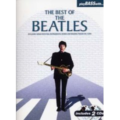PLAY BASS WITH BEST OF BEATLES LIVRET  + 2 CDs