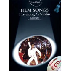 GUEST SPOT FILM SONGS VIOLON LIVRET  + 2 CDs