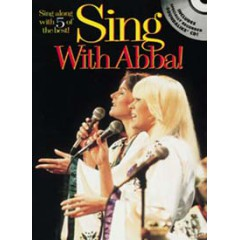 SING WITH ABBA LIVRET + CD