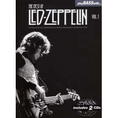 PLAY BASS WITH LED ZEPPELIN BEST OF V.1 LIVRET + 2 CDs