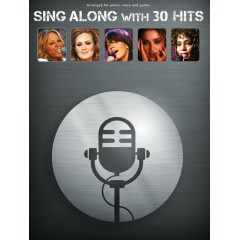 SING ALONG WITH 30 HITS LIVRET + 5 CDs