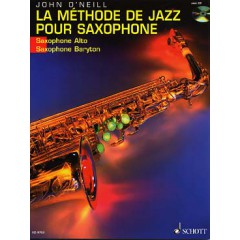 METHODE DE JAZZ POUR SAXO ALTO + CD