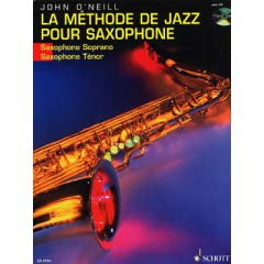 METHODE DE JAZZ POUR SAXO TENOR + CD