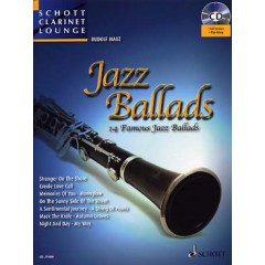 JAZZ BALLADS CLARINETTE + CD