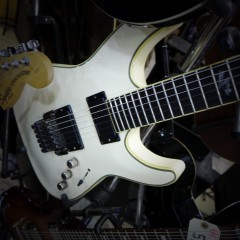 SCHECTER - BLACK JACK/ WHITE